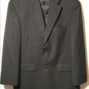 Men's Haggar Suit Jacket Black
